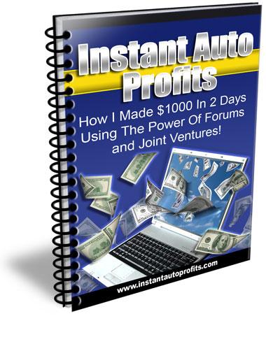 Quick Profit Online - Instant Auto Profits Cover